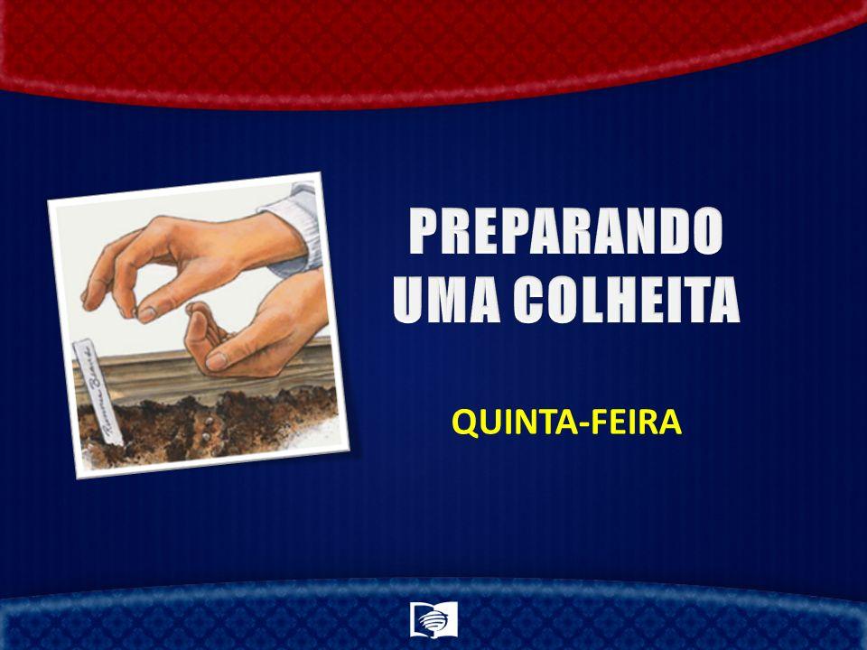 PREPARANDO UMA COLHEITA