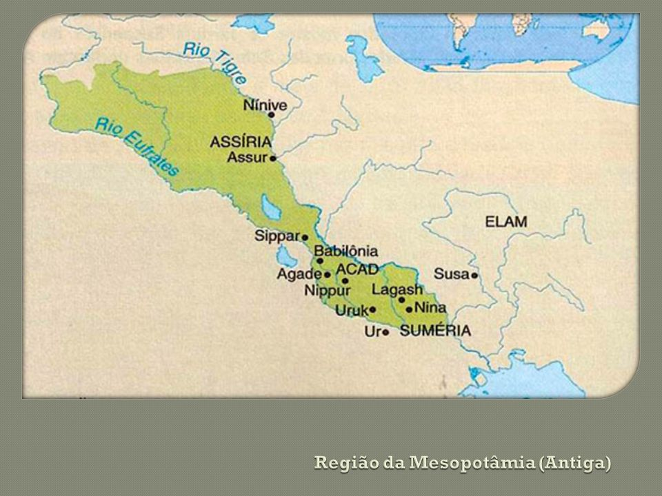 Região da Mesopotâmia (Antiga)