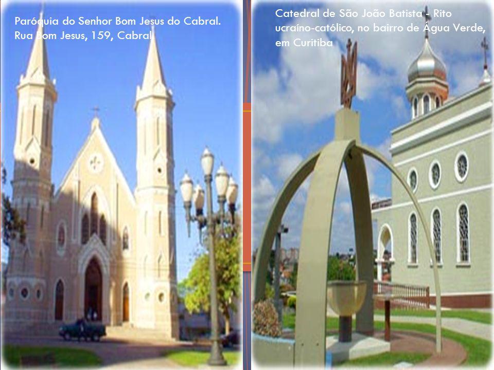Catedral de São João Batista - Rito ucraíno-católico, no bairro de Água Verde, em Curitiba