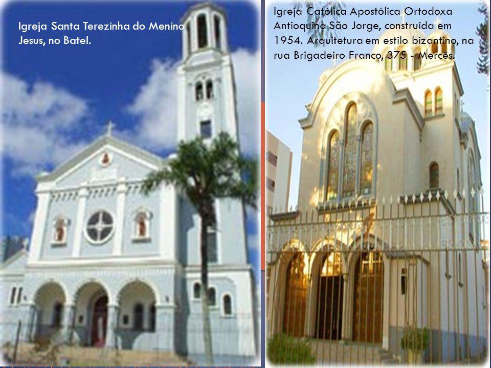 Igreja Católica Apostólica Ortodoxa Antioquina São Jorge, construída em 1954. Arquitetura em estilo bizantino, na rua Brigadeiro Franco, 375 - Mercês.