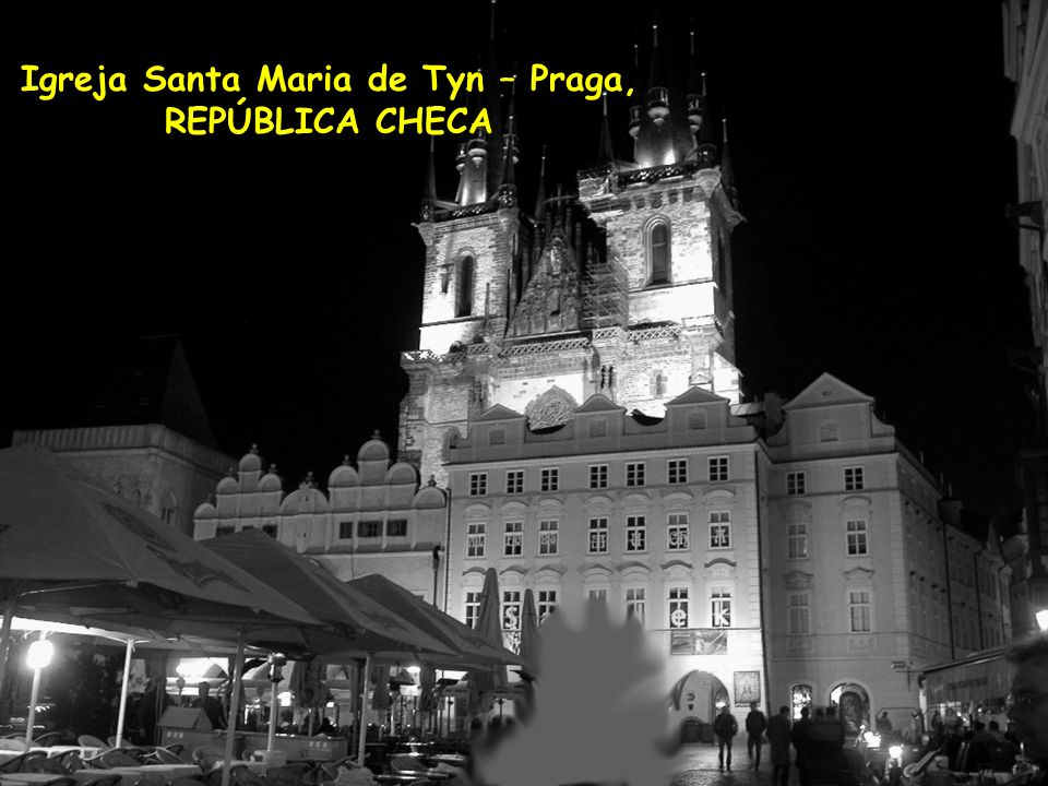 Igreja Santa Maria de Tyn – Praga,