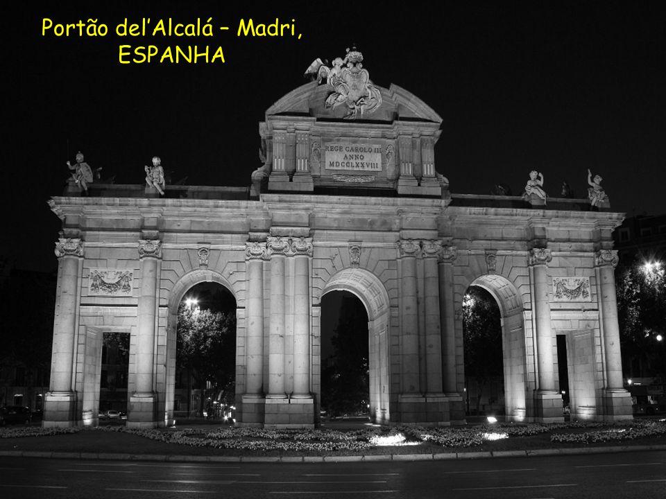 Portão del'Alcalá – Madri,