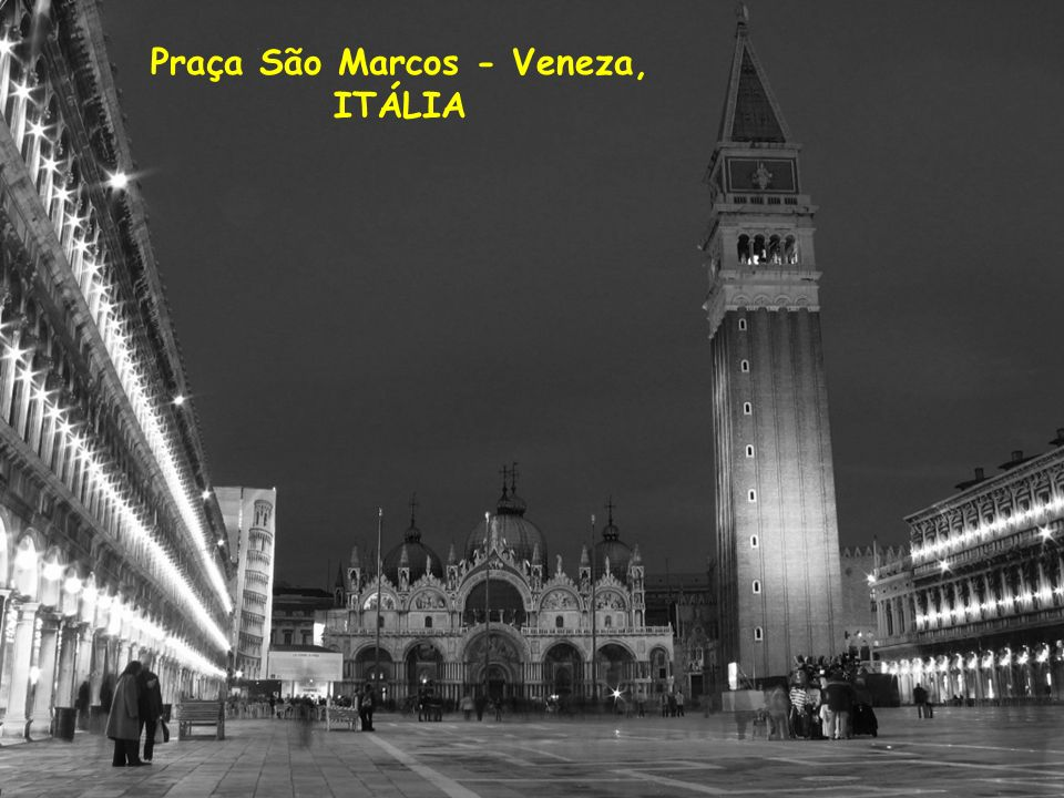 Praça São Marcos - Veneza,