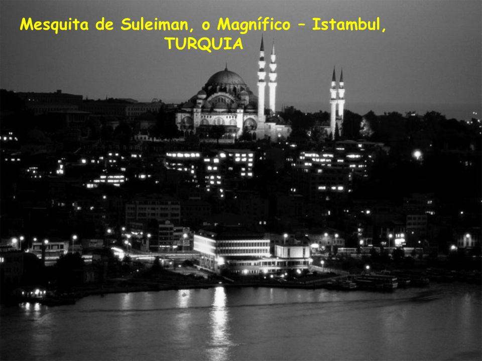 Mesquita de Suleiman, o Magnífico – Istambul,