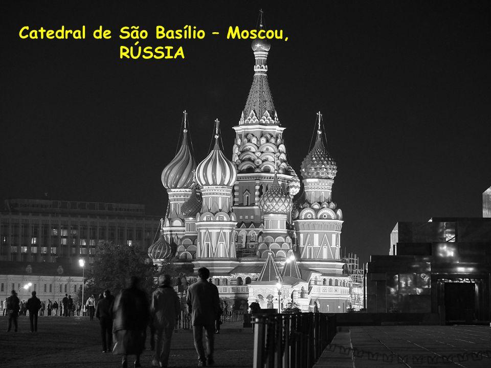 Catedral de São Basílio – Moscou,