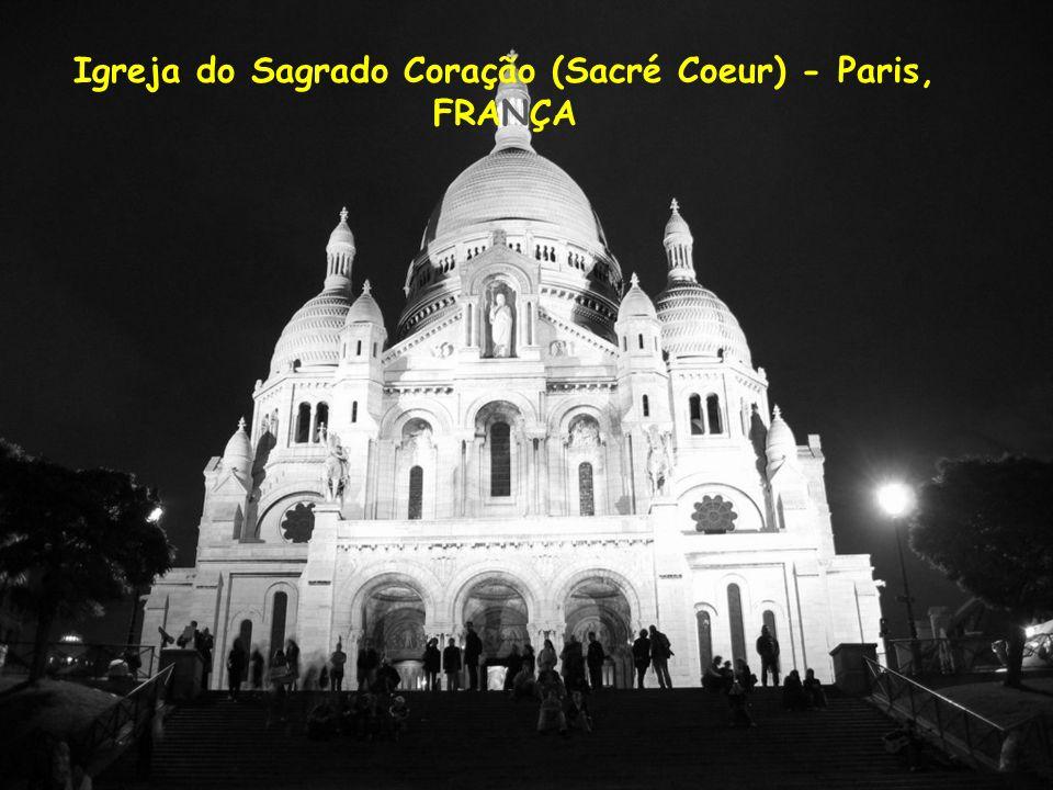 Igreja do Sagrado Coração (Sacré Coeur) - Paris,