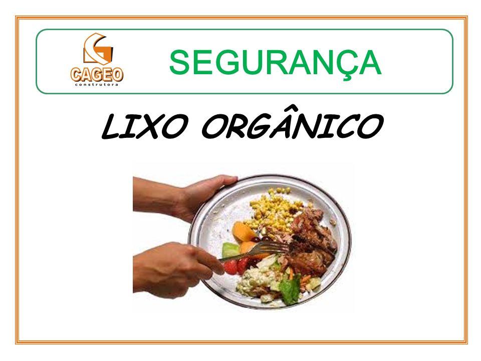SEGURANÇA LIXO ORGÂNICO