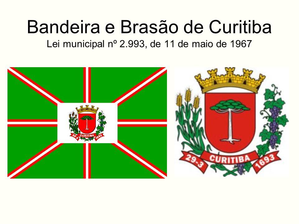 Bandeira e Brasão de Curitiba Lei municipal nº 2