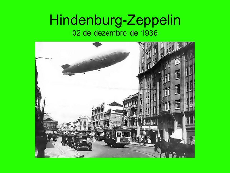 Hindenburg-Zeppelin 02 de dezembro de 1936