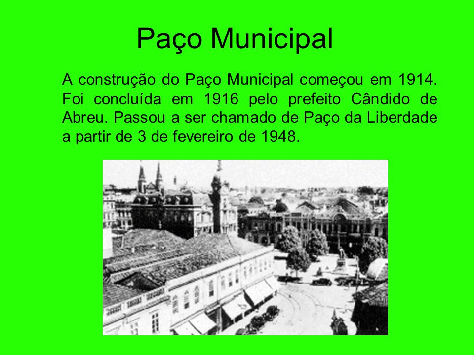 Paço Municipal