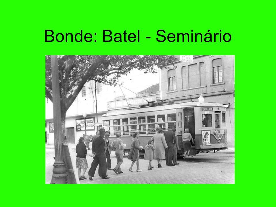 Bonde: Batel - Seminário