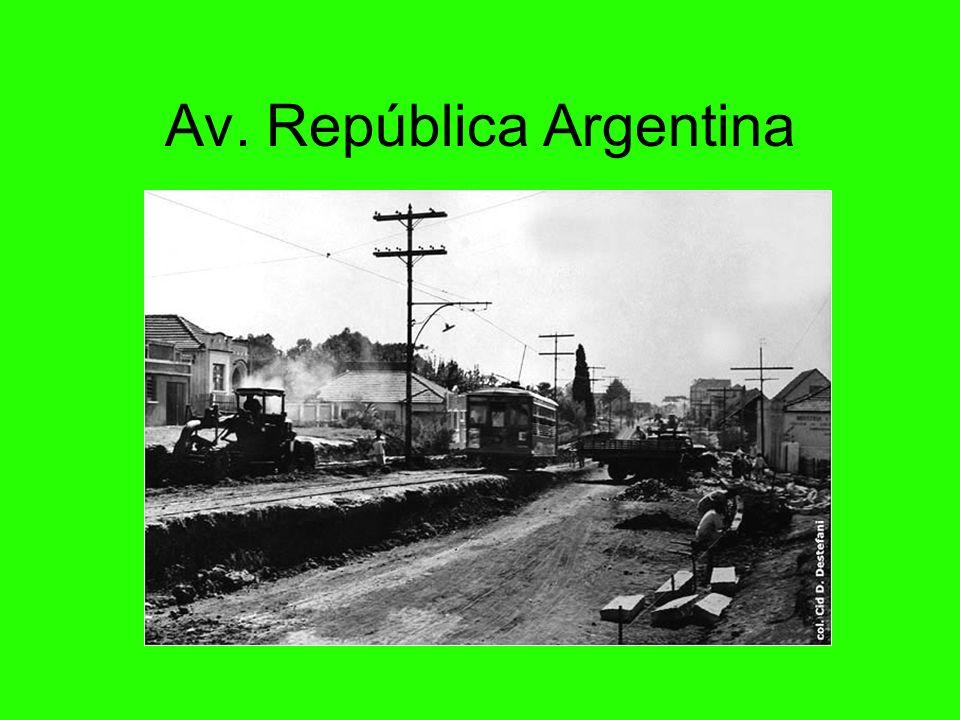 Av. República Argentina