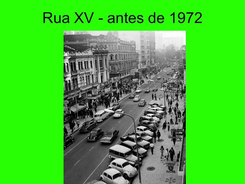 Rua XV - antes de 1972 68