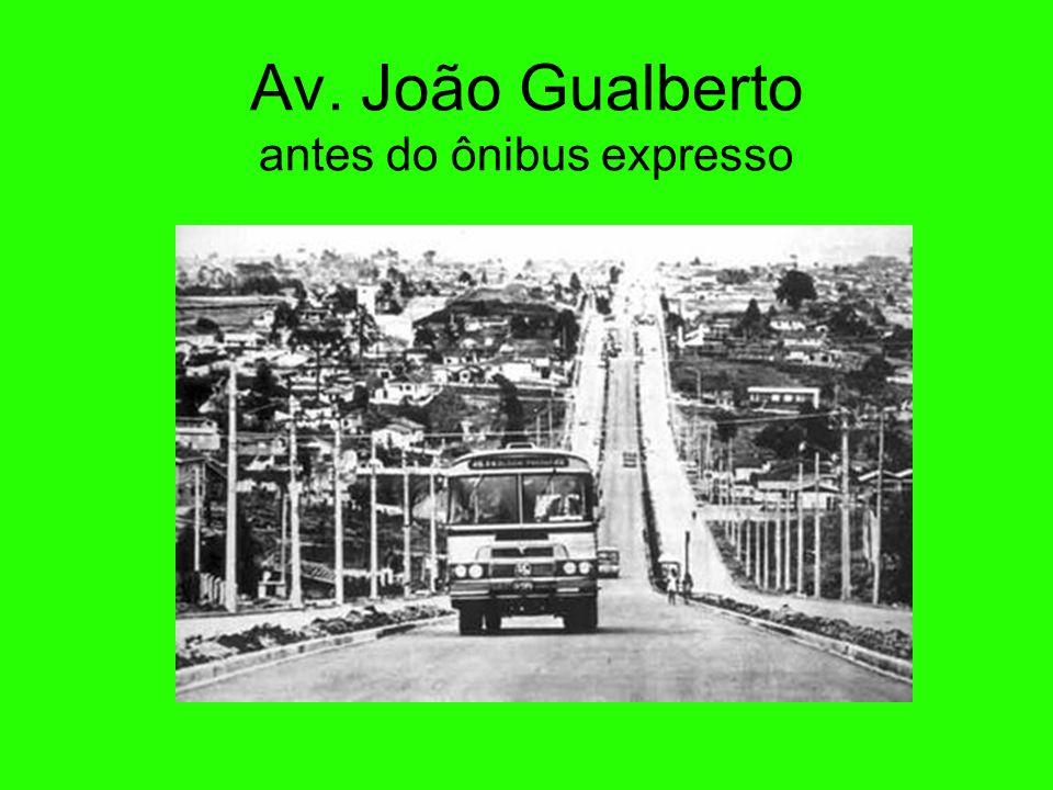 Av. João Gualberto antes do ônibus expresso