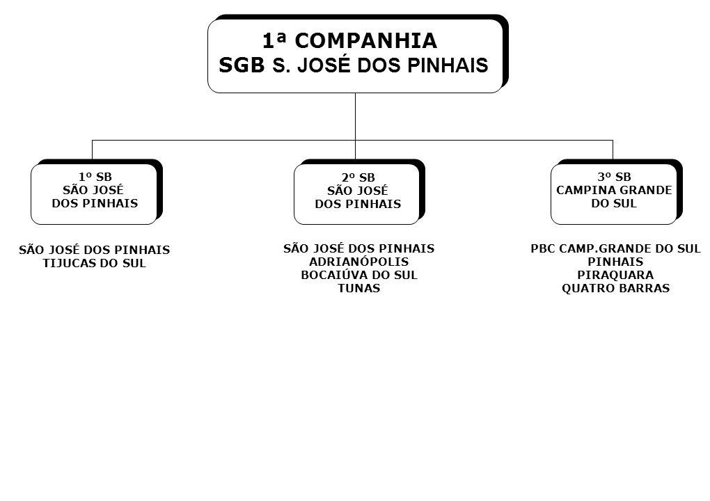 1ª COMPANHIA SGB S. JOSÉ DOS PINHAIS 1º SB SÃO JOSÉ DOS PINHAIS 2º SB