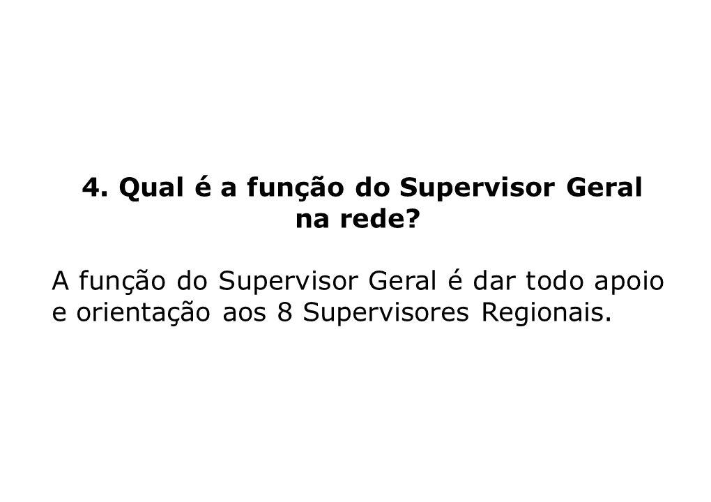 4. Qual é a função do Supervisor Geral na rede