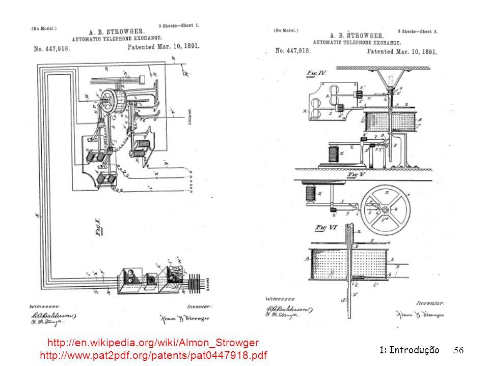 http://en.wikipedia.org/wiki/Almon_Strowger http://www.pat2pdf.org/patents/pat0447918.pdf.