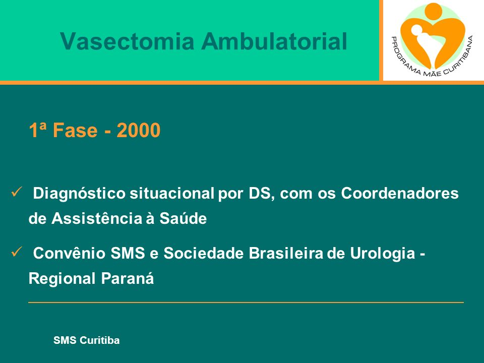 Vasectomia Ambulatorial