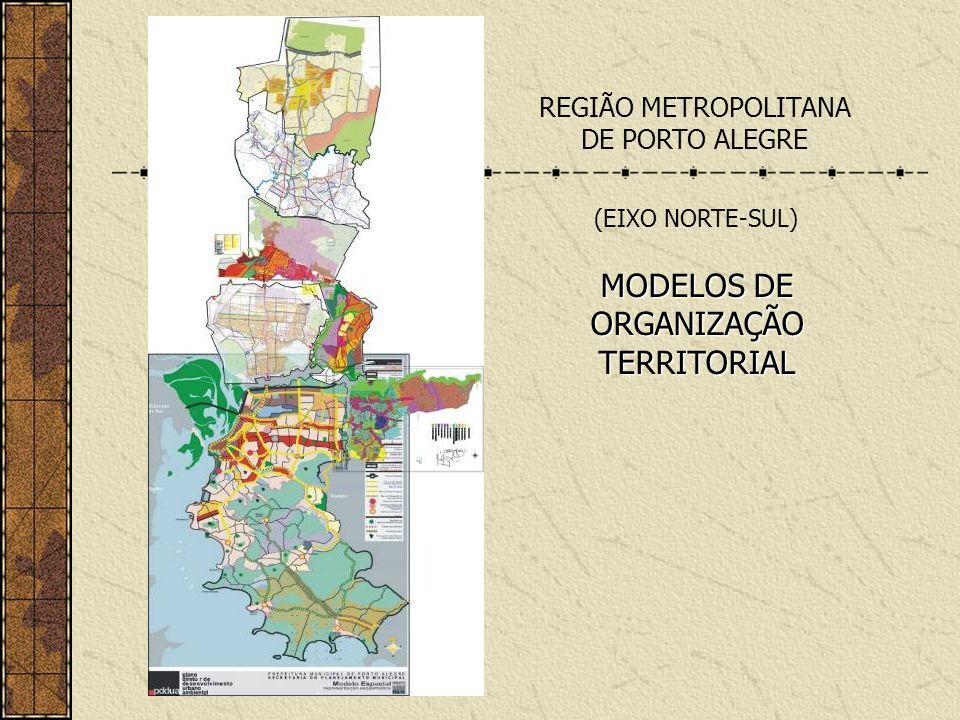 MODELOS DE ORGANIZAÇÃO TERRITORIAL