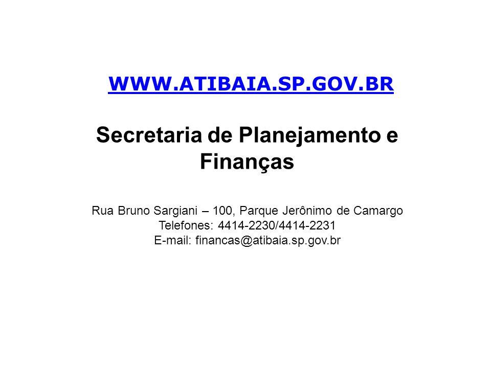 Secretaria de Planejamento e Finanças
