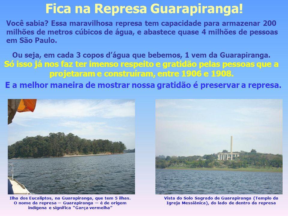 Fica na Represa Guarapiranga!