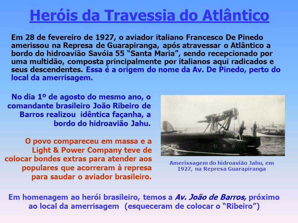 Heróis da Travessia do Atlântico