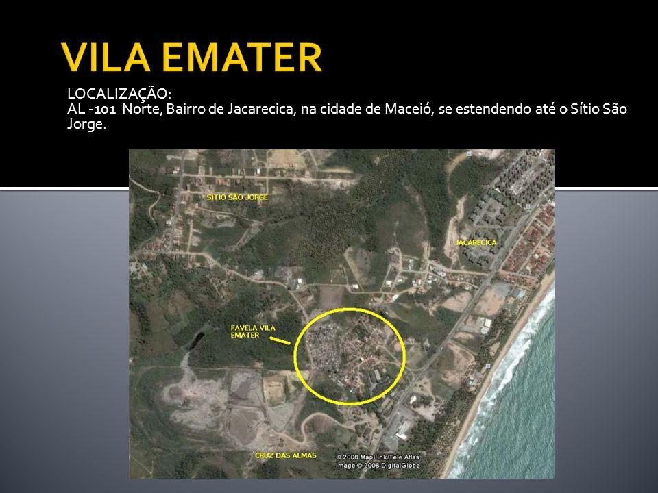 VILA EMATER LOCALIZAÇÃO: