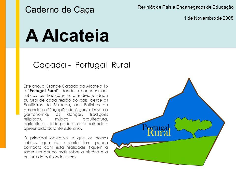 A Alcateia Caderno de Caça Caçada - Portugal Rural