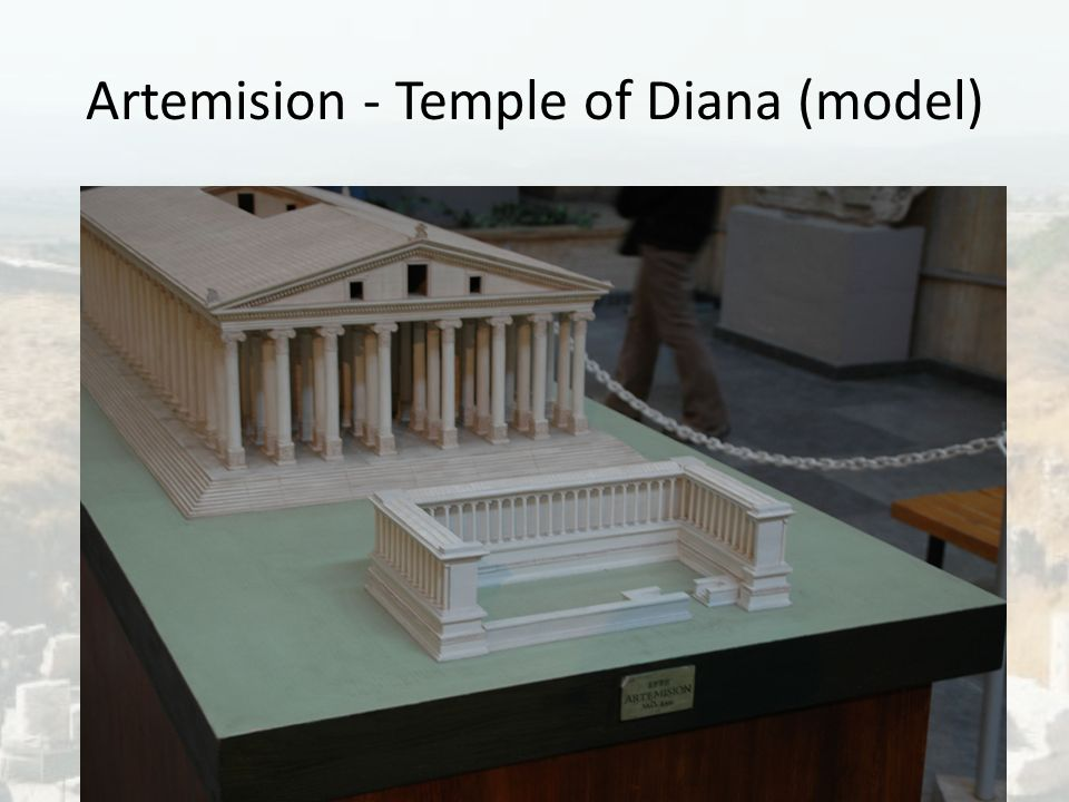 Artemision - Temple of Diana (model)