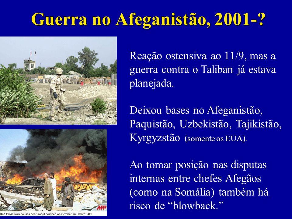 Guerra no Afeganistão, 2001-