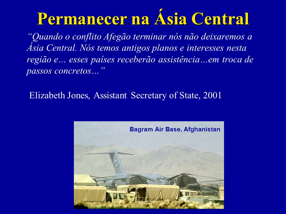 Permanecer na Ásia Central Bagram Air Base, Afghanistan