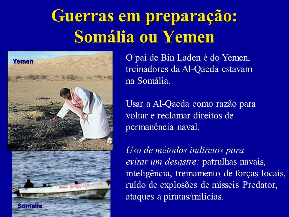 Guerras em preparação: Somália ou Yemen