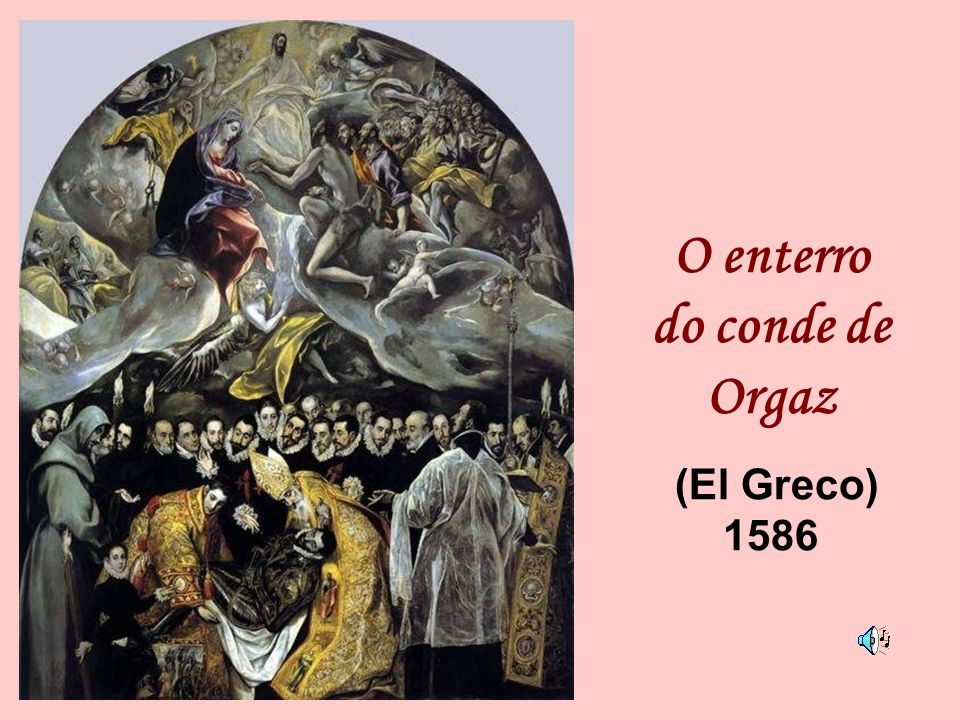 O enterro do conde de Orgaz