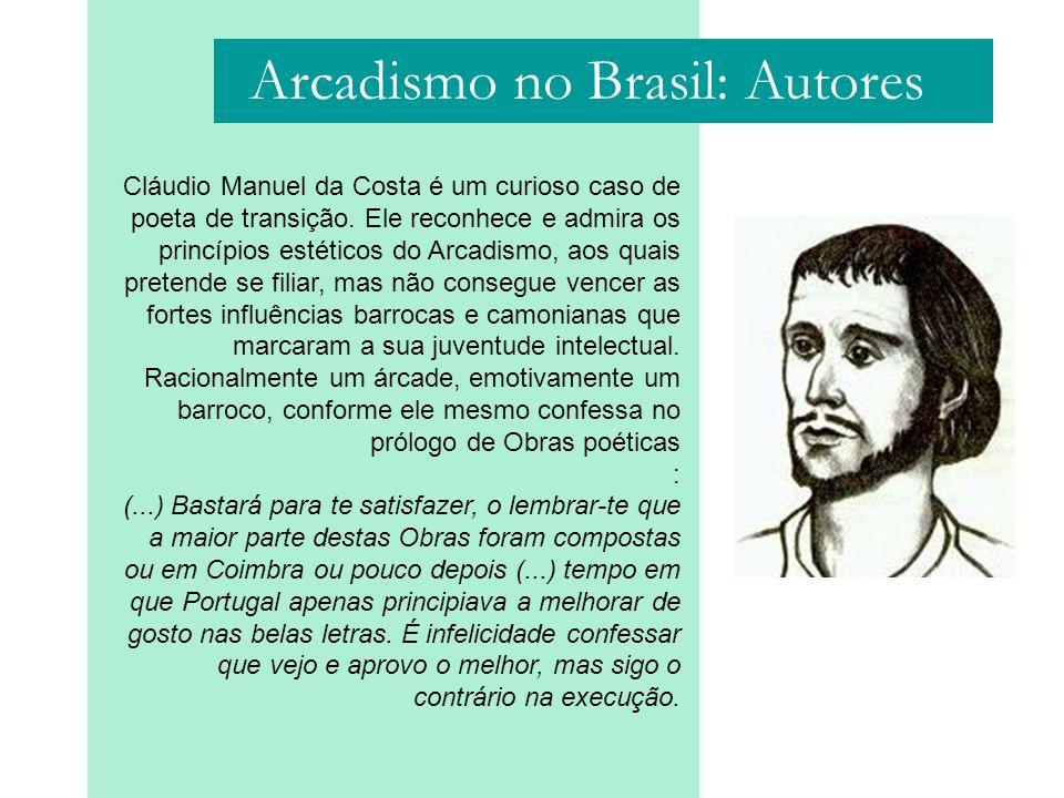 Arcadismo no Brasil: Autores