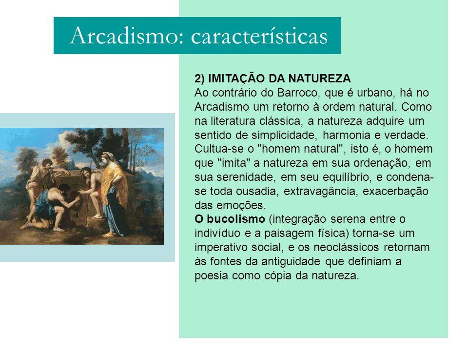 Arcadismo: características