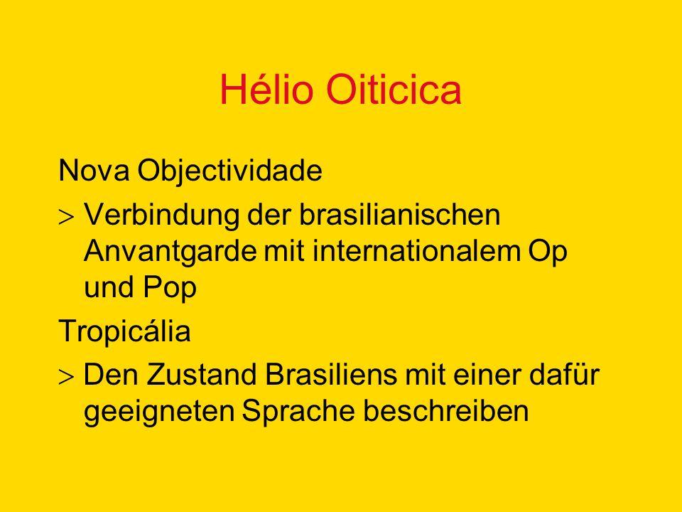 Hélio Oiticica Nova Objectividade