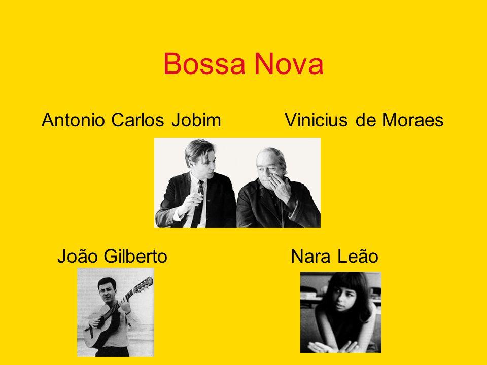 Bossa Nova Antonio Carlos Jobim Vinicius de Moraes