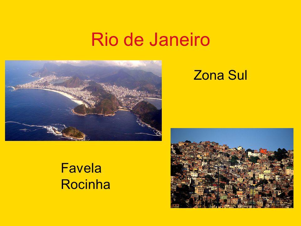 Rio de Janeiro Zona Sul Favela Rocinha