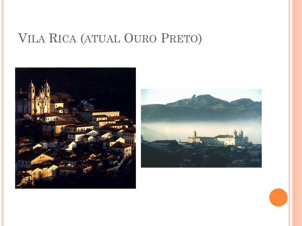 Vila Rica (atual Ouro Preto)