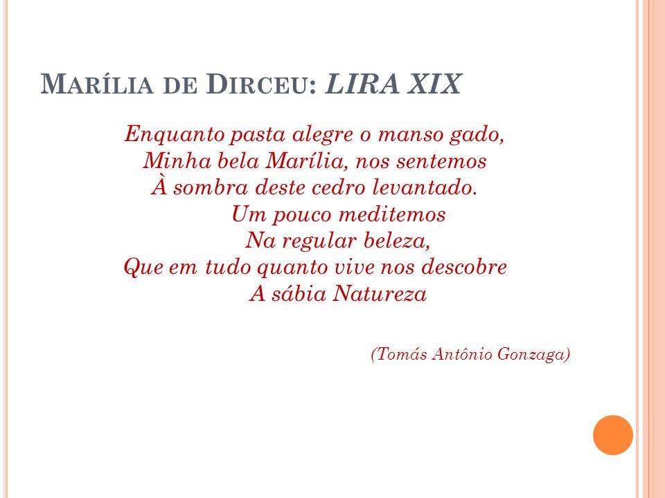 Marília de Dirceu: LIRA XIX
