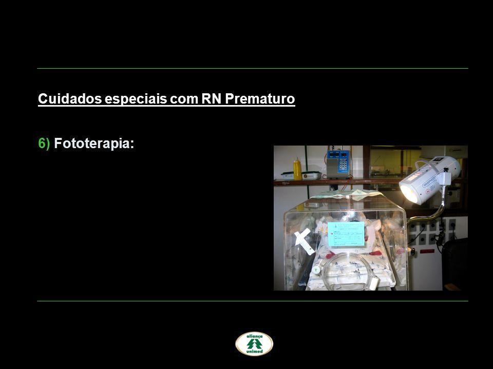 Cuidados especiais com RN Prematuro