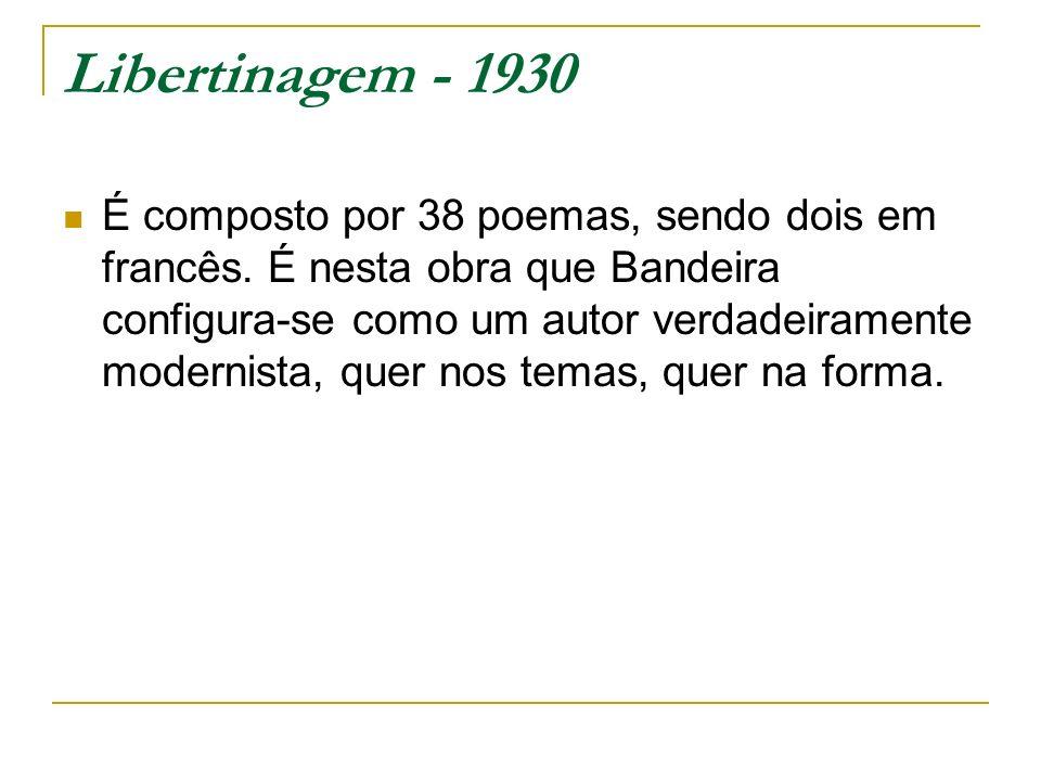 Libertinagem - 1930
