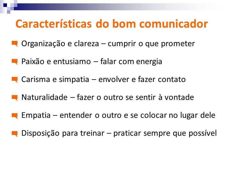 Características do bom comunicador