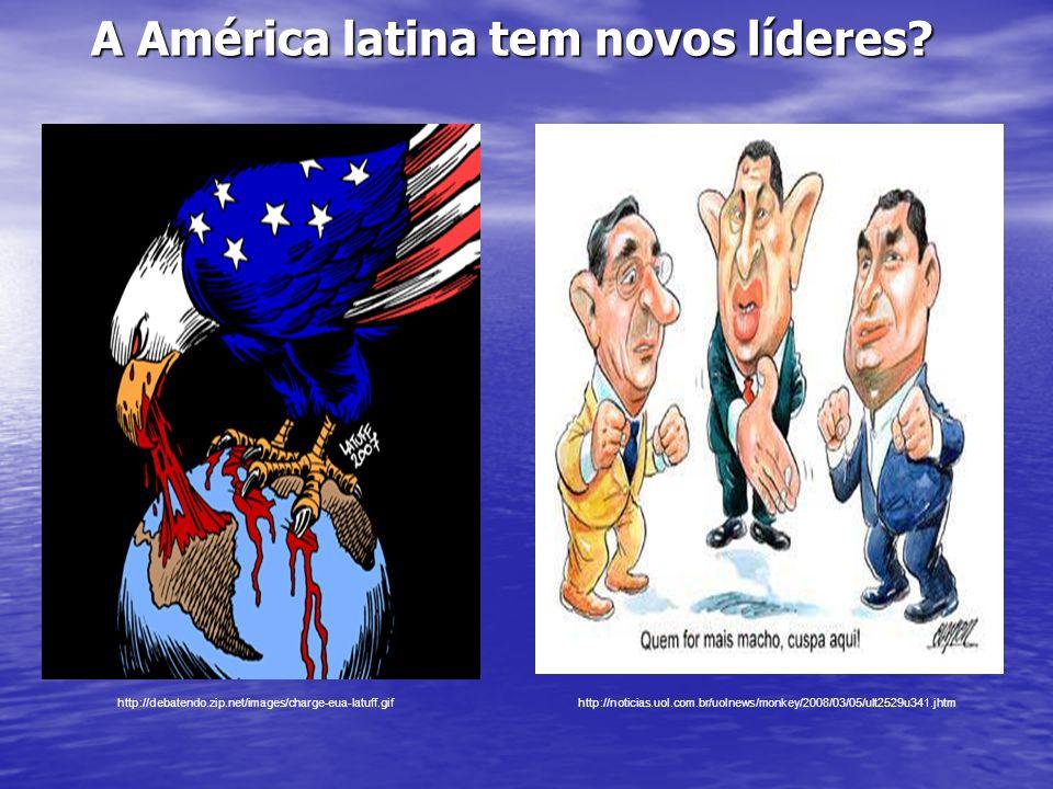 A América latina tem novos líderes