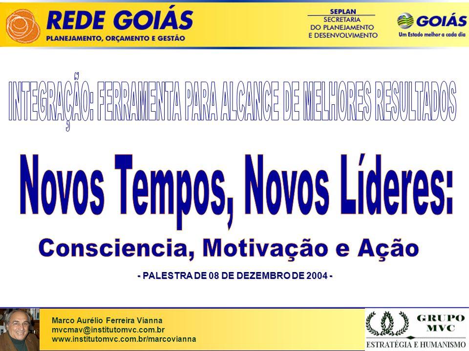 - PALESTRA DE 08 DE DEZEMBRO DE 2004 -