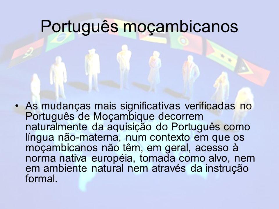 Português moçambicanos