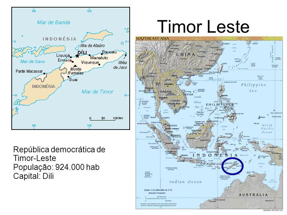 Timor Leste República democrática de Timor-Leste