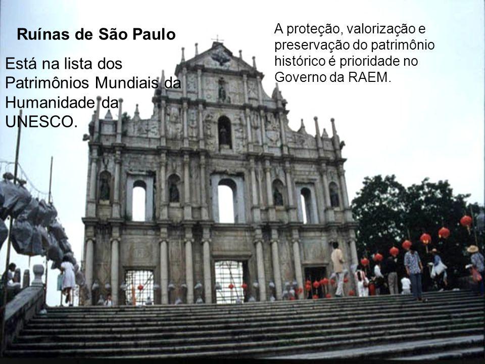 Está na lista dos Patrimônios Mundiais da Humanidade da UNESCO.