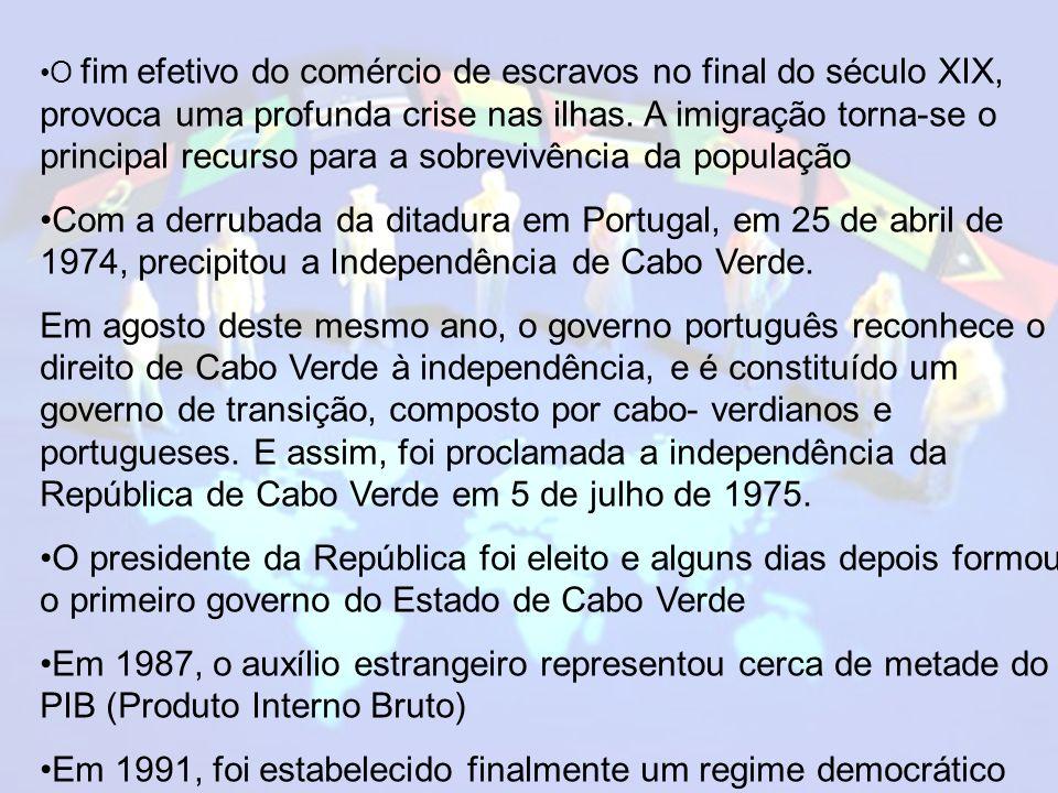 Em 1991, foi estabelecido finalmente um regime democrático