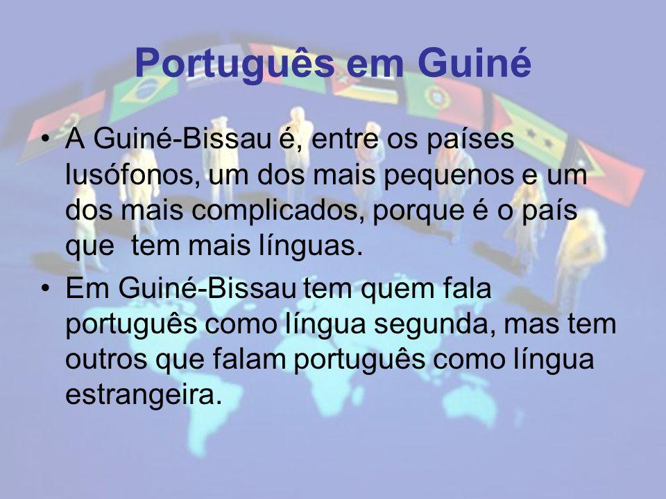 Português em Guiné